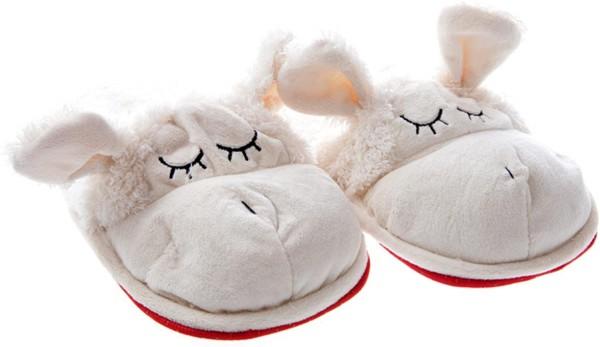 Hausschuhe Schaf, Gr. L, 38-40, Pantoffeln