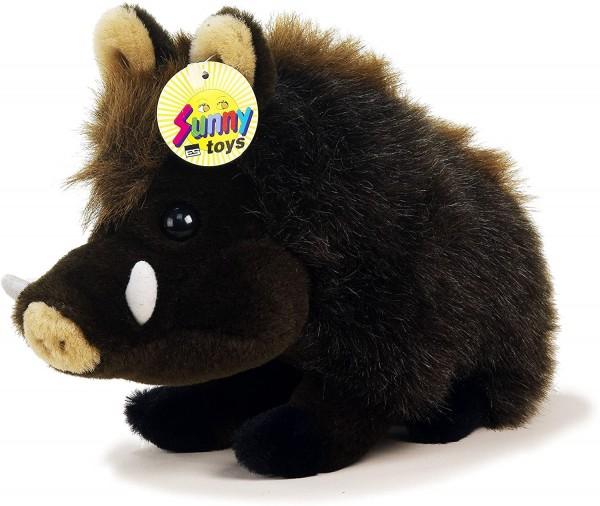 Euro-Souvenier ES Sunny Toys 30991 -Plüsch Wildschwein Circa 28 cm