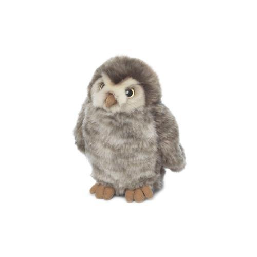 WWF Steinkauz Baby aus Plüsch 15cm stehend
